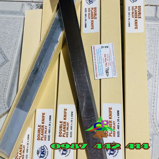Dao bào TKG Double planer knife 460*38*6MM